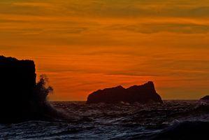 Costa de Oregon RV parques con vista al mar