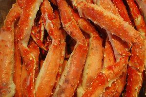 ¿Cuánto tiempo puede usted guardar rey cangrejo congelado?