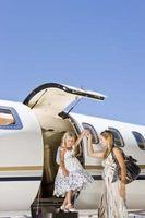 Avión Consejos para viajar con los hijos