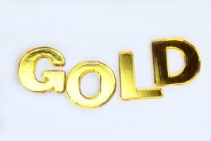 Como prueba de oro de 18 quilates