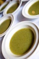 Ideas para decorar una sopa