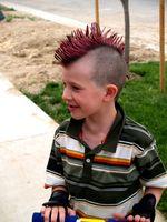Peinados punk populares
