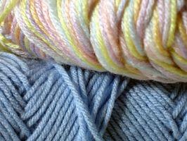 Cómo cambiar los colores en una tricotosa