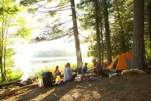 Bristol, Tennessee Campamentos