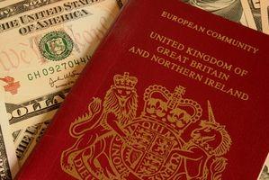 ¿Cómo cambio los contactos en un pasaporte británico?