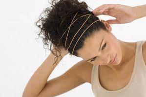 Las cosas lindas que hacer para el cabello sin enderezándolo