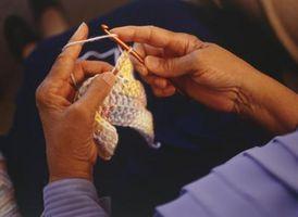Cómo lavar una bufanda de lana de ganchillo
