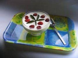 Cómo hacer yogurt con una máquina eléctrica Yogur