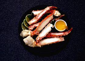 Cómo cocinar las piernas de cangrejo