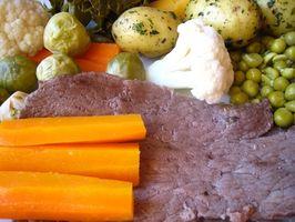 Cómo asar una carne asada de cinco libras de fondo redondo