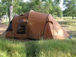 Campamentos de tiendas de campaña en California