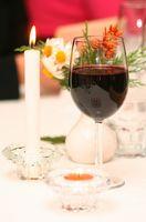Las comidas rápidas deliciosas para una cena romántica