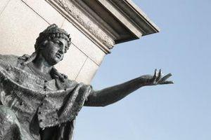 Esculturas caminando en Filadelfia