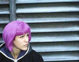 Las ideas de punk Color del pelo