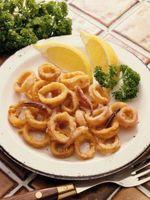 Cómo obtener calamares fritos suave