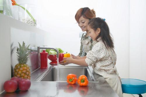 Cómo hacer de lavado de verduras casero