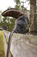 Cuero Suela vs. suela de goma botas de vaquero