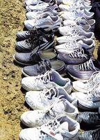 Cómo atar cordones de los zapatos Cinturones