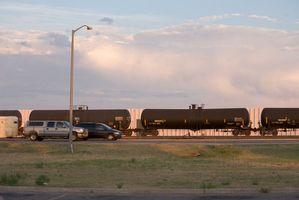 ¿Qué tan rápido los trenes de mercancías Normalmente viaje?