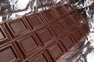 Cómo hacer chocolate sin edulcorar, en el chocolate oscuro