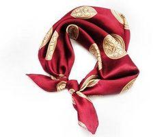 Cómo coser bufandas de seda