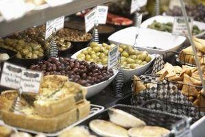 Los mercados de París y Alimentos