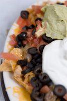 Cómo hacer bajo en grasa nachos