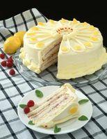 Cómo transferir un patrón de tuberías gel sobre un pastel