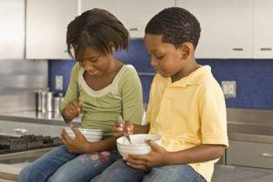 Las comidas orgánicas saludables para los niños