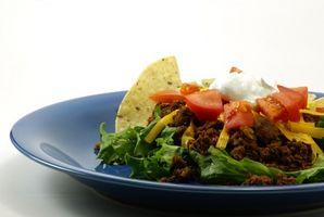 ¿Qué alimentos ¿Sirven a una fiesta mexicana?