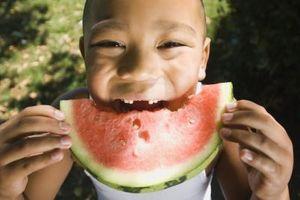 Los niños como hacer dulce de frutas?