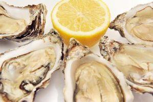 Forma de guardar sin concha ostras