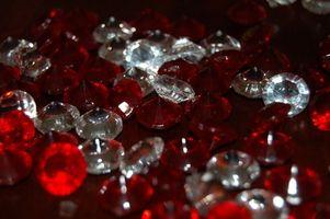 Tipos de gemas rojas
