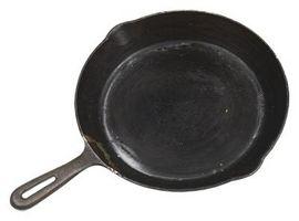 Cómo cocinar en sartenes de hierro fundido