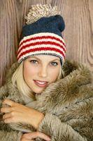 ¿Qué hacen las niñas usan en la ciudad de Nueva York en la época de invierno?