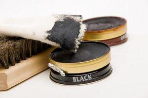 Cómo quitar el betún de zapatos Negro De Denim Jeans