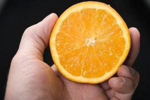 Cómo pelar una naranja El uso de un cocinero cuidado en exceso de Orange Peeler