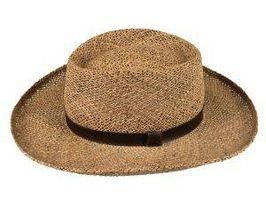 Acerca de los hombres sombreros de paja de la vendimia