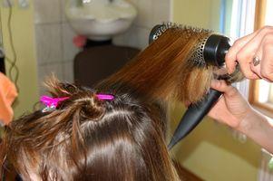 La manera más segura para alisar el cabello