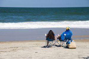 Frente a la playa moteles en la Isla Esmeralda