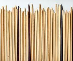 ¿Cómo hacer lazos del pelo con los palillos