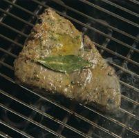 ¿Puedo cortar Congelador-Burn Off de un filete de atún y Cook el resto?