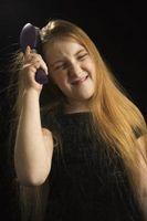 Cómo disminuir la fricción en un cepillo de pelo