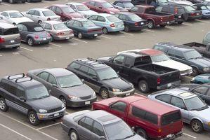 Estacionamiento del aeropuerto en Manchester, New Hampshire