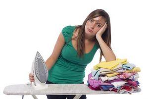 Cómo planchar la ropa del algodón