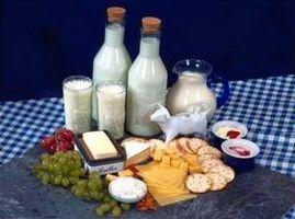Los alimentos ricos en potasio y calcio