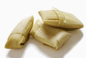 Cómo hacer tamales con polenta preparada