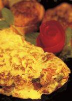 Bicarbonato de sodio o bicarbonato en polvo para hacer una tortilla mullido?