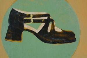 Tipos de zapatos de las mujeres en la década de 1920