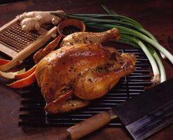Cómo hacer un jugoso pollo asado
